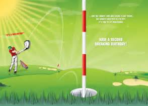 printable golf birthday cards printable cards