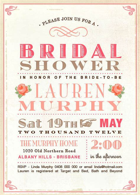 wedding planning ideas with 25 awesome bridal shower - Design Bridal Shower Invitations