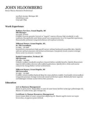 10 Interesting Simple Resume Exles You Would To Notice 12 Free High School Student Resume Exles For