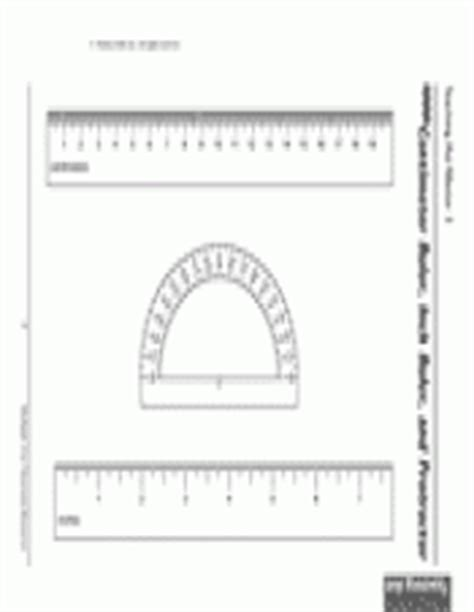 printable protractor with centimeter ruler printable centimeter ruler inch ruler and protractor