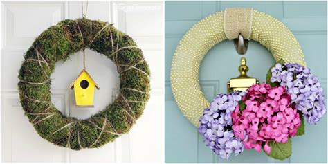 easter wreath 30 diy easter wreaths ideas for easter door decorations