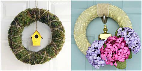 easter door decorations 30 diy easter wreaths ideas for easter door decorations