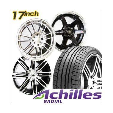 Paket Cicilan 4 Velg Racing 15 Inch 4 Ban 1856515 Achilles Jual Ban Mobil Achilles Harga Murah Kualitas Terbaik