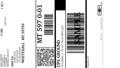 delivery returns ups returns label delivery made by creative label
