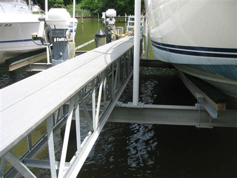 boat lift walkway 1000 images about up out boat lifts on pinterest