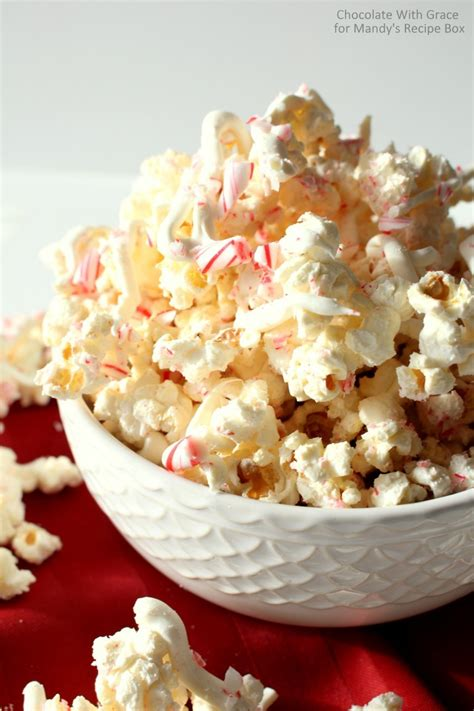 white chocolate peppermint white chocolate peppermint popcorn mandy s recipe box