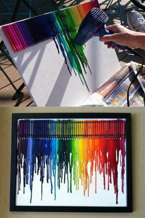 Crayon And Hairdryer crayons dryer creative