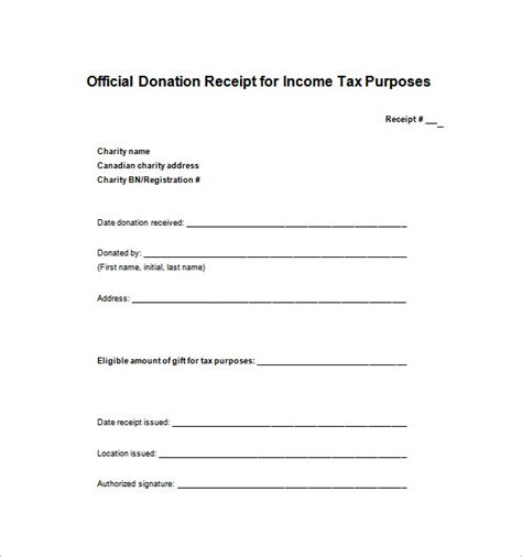receipt template 122 free printable word excel pdf