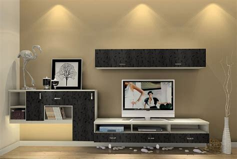 interior design tv cabinet and wall cabinet gray