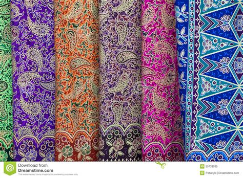 Nusa Pattern background with patterns on the texture of fabric stock