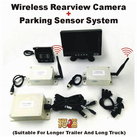 Jual Cctv Wireless Jarak Jauh by Aliexpress Buy 24v Four Parking Sensor Wireless