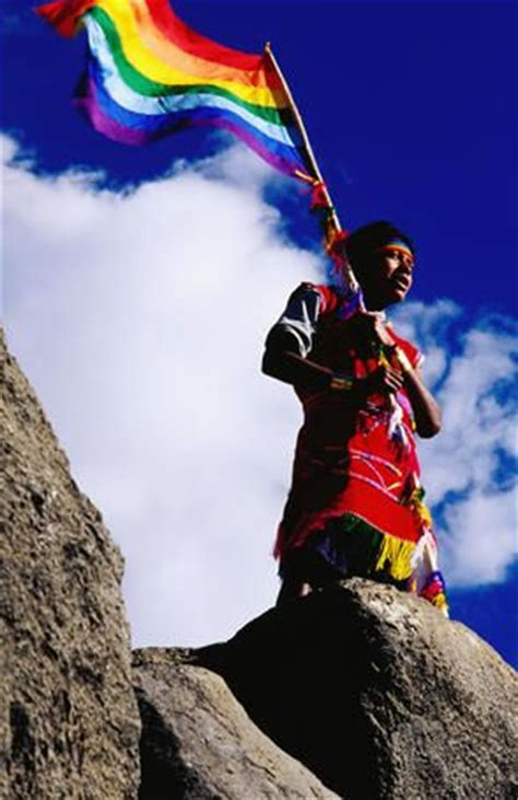 pin by wayne fischer on peru travels pinterest the faces of peru flag bearer at ancient incan inti raymi