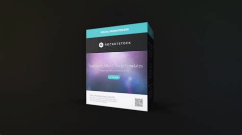 compact product promo after effects template