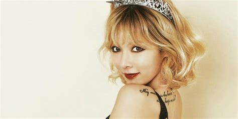how many tattoo does hyuna have hyuna reportedly preparing a solo comeback allkpop com