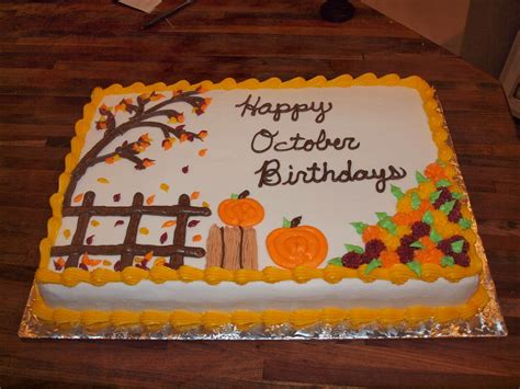 fall cake decorating ideas galleries related autumn sheet cakes fall cake decorating