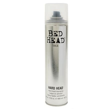 bed head hard head hairspray hairstyling products discussion recommendation