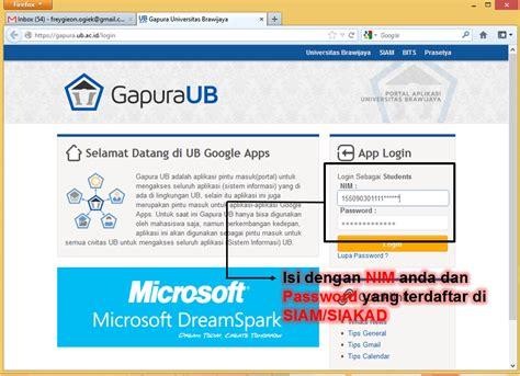 proposal membuat gapura tutorial membuat email blog ub mengatasi email tidak