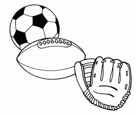 Sports Balls Free Printable Coloring Pages Free Printable Sports Coloring Pages