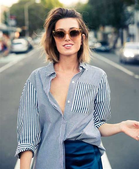 hairstyle for short hair on jeans 15 casual short haircuts short hairstyles 2017 2018