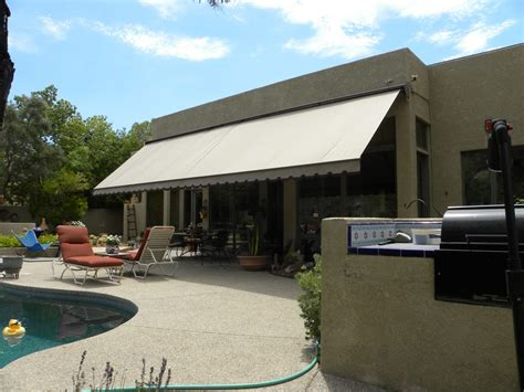 awnings tucson tucson residential retractable awnings air and sun shade
