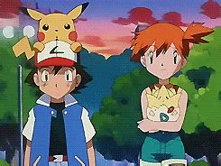 wallpaper gif pokemon pokemon ash and misty married car interior design