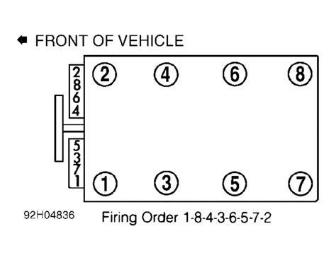 chevrolet camaro questions firing order for spark