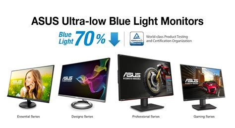 Low Blue Light by Asus Ultra Low Blue Light Monitors Receive Highest Number Of T 220 V Rheinland Certifications