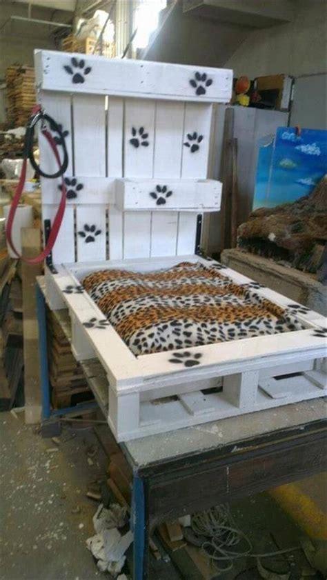 diy pallet dog bed ideas diy  crafts
