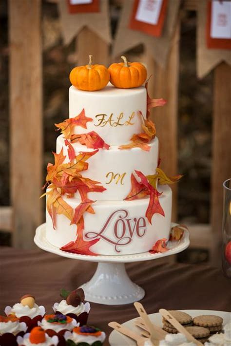 fall bridal shower cake pictures 38 cozy and sweet fall bridal shower tips decor advisor