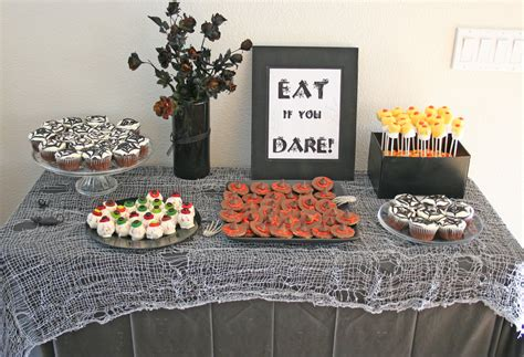 Homemade Halloween Party Decorations | you asked our halloween party thoughtfully simple