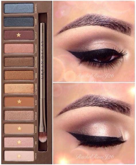 eyeshadow tutorial urban decay 3 naked palette look 1 rachel r j s rachelrosej26