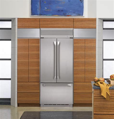 built in refrigerator zipp360nhss monogram 36 quot built in french door