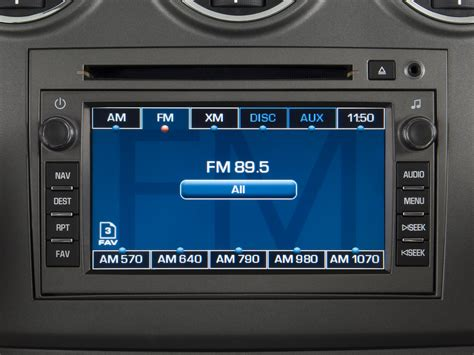2008 saturn vue radio interior photo automotive