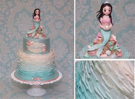 Home Design Trends Australia by Mermaid Cakes Amp Tutorial Cake Geek Magazine