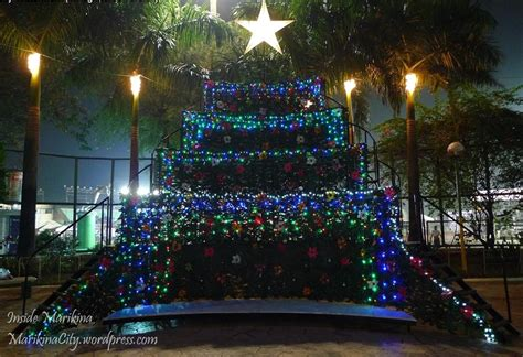 singing christmas tree in marikina inside marikina