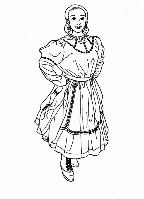 coloring pages of women s hats mexican hat coloring page az coloring pages
