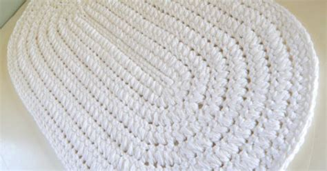 white oval rug white oval bath rug thick n plush bath mat by cottagecovecrochet rugs bath rugs