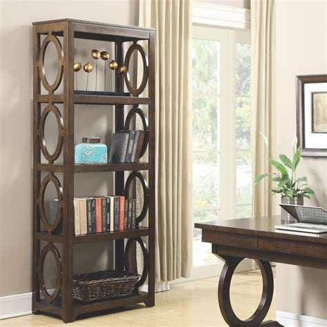 coaster enedina 801213 open bookcase sol furniture