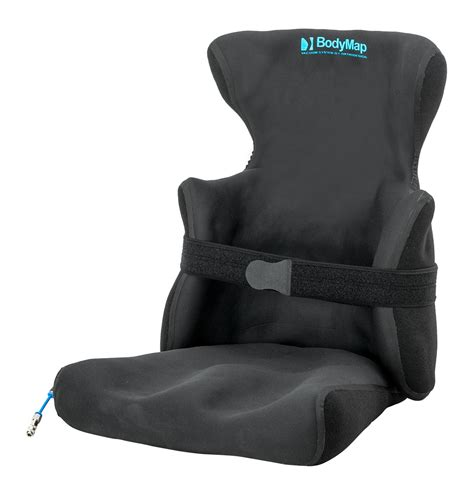 Cushion Supports by Positioning Chair With Headrest And Lateral Support