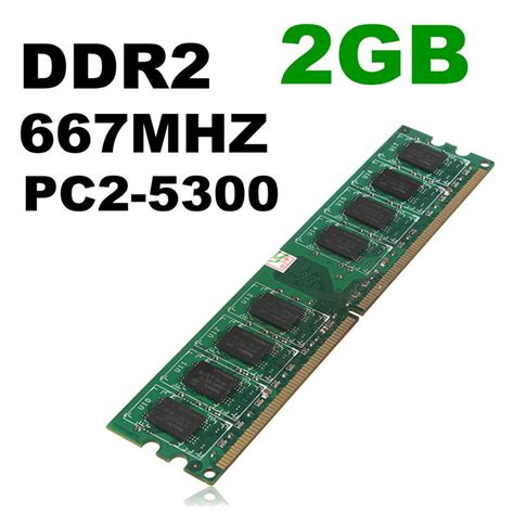 Memoryram Ddr2 For Pc 256 Mb 2gb ddr2 memory ram pc2 5300 5300u ddr2 667 mhz 240 pin for desktop pc dimm in rams from