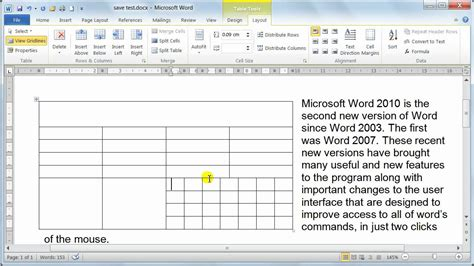 Remove Table Formatting by Microsoft Word 2010 Formatting Tables Table Properties