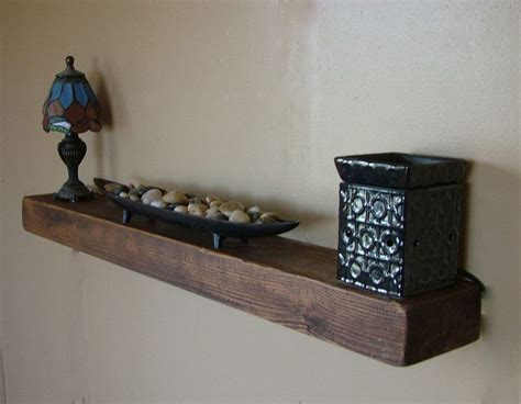 details about 3 quot thick reclaimed wood floating shelf 40