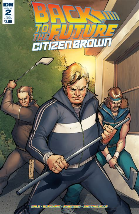 Back To The Future Citizen Brown by Back To The Future Citizen Brown 2 Idw Publishing