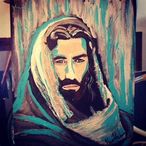acrylic painting of jesus i painted this using acrylics this painting i did is up