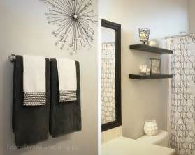 decorative towel design ideas 18 effective ways to bathroom shelving ideas for optimizing space