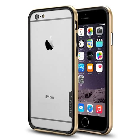 more 174 slim line bumper black series for iphone 6 6s chagne gold official more 174