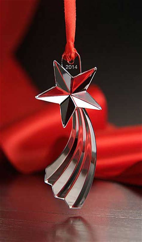 orrefors 2014 annual ornament shooting star