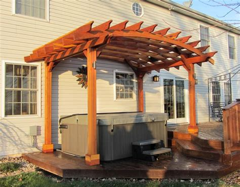 how to build an arched pergola arched pergolas pergolas forever redwood gardening