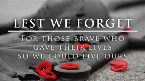 Lest We Forget by Lest We Forget Quotes