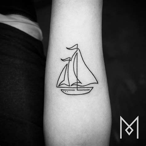 single line tattoo 35 superb line tattoos
